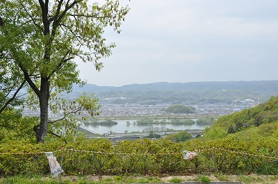 玉島方面の風景