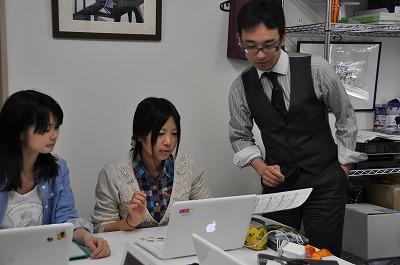 神田先生と学生さん