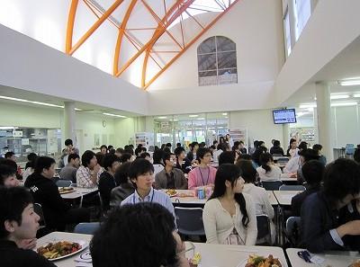 生命科学科新入生歓迎会が開催されました。