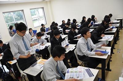 岡山県立倉敷鷲羽高等学校の来校について