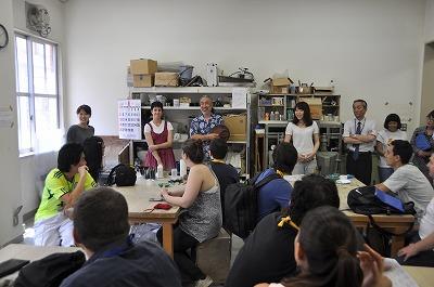 海外協定校研修団の訪日について