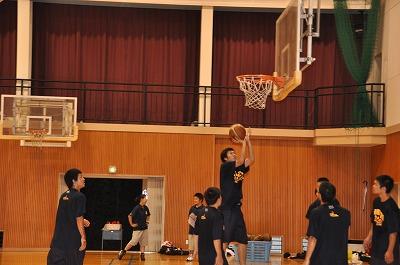 バスケットボール部練習風景