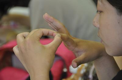 爪揉み療法