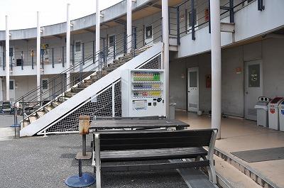 学生集会室階段横両脇の自動販売機