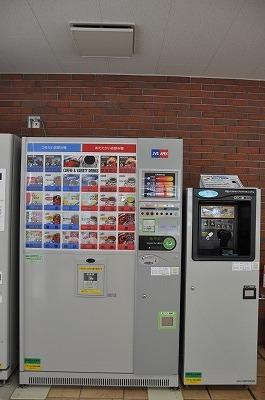 学生控室の自動販売機