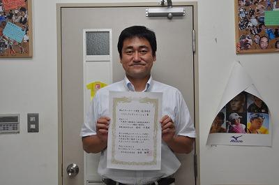 健康科学科 枝松先生