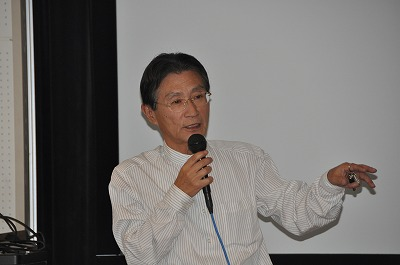 講師の楢村徹氏