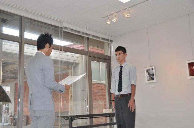 準グランプリ受賞のヘイゼン渉さん
