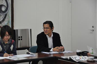 芸術学部デザイン学科柳田先生