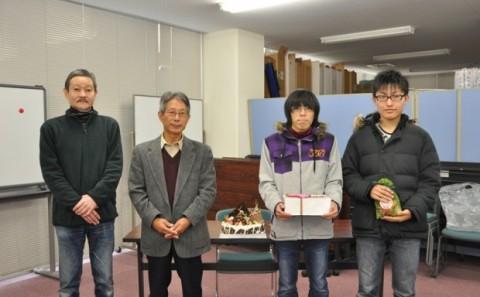 クリスマスイルミネーション・フォトコンテスト2011授賞式について