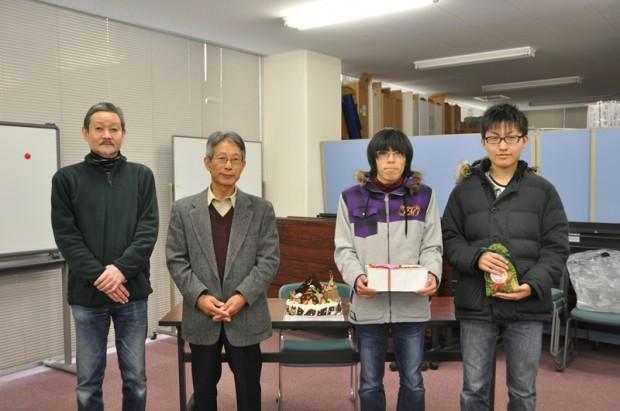 クリスマスイルミネーション・フォトコンテスト2011授賞式