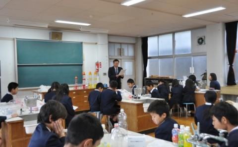 倉敷市立本荘小学校への出張講義についてvol.2