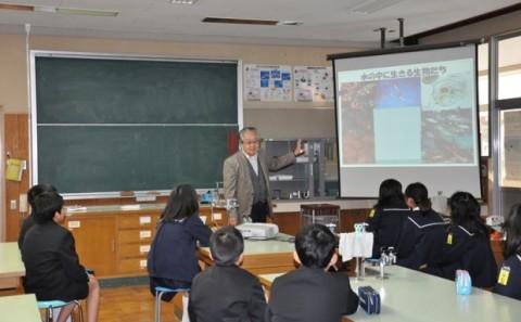 倉敷市立連島西浦小学校への出張講義についてvol.1