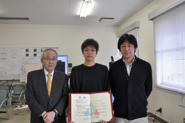 「科学プレゼン賞」を受賞された土屋 卓司さん