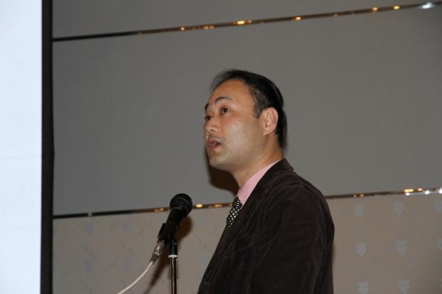 独立行政法人宇宙航空開発研究機構(JAXA)の竹前俊昭さん