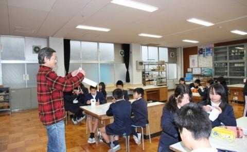 倉敷市立本荘小学校への出張講義についてvol.3