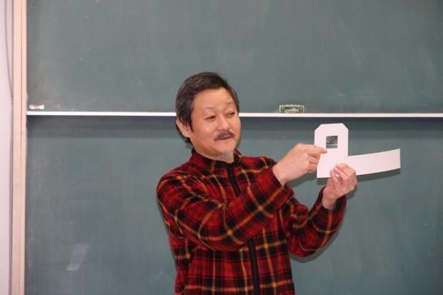 メディア映像学科幡山先生