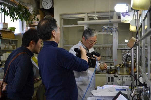 須見研究室撮影の様子