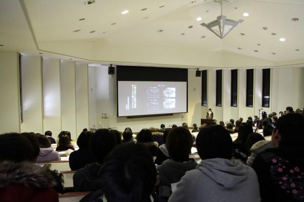 生命動物科学科卒業論文発表会