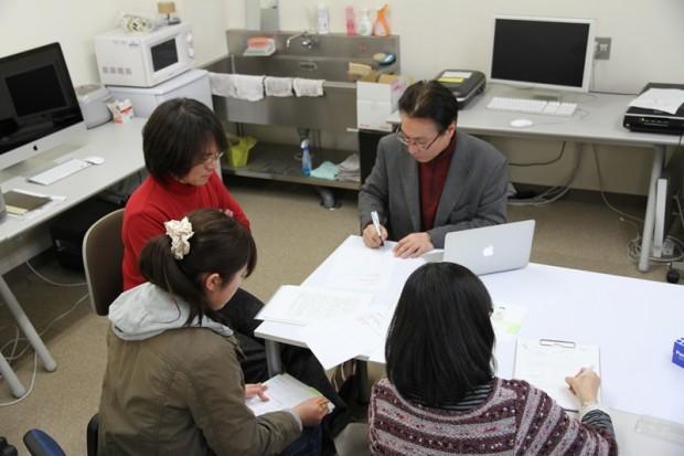 学内共同研究「アニメーションを用いた集団災害教育の実践」の打合せ