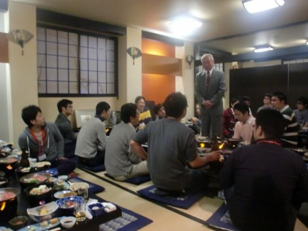 石川先生開会のご挨拶