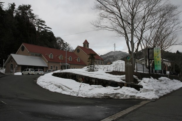 妖精の森ガラス美術館入口