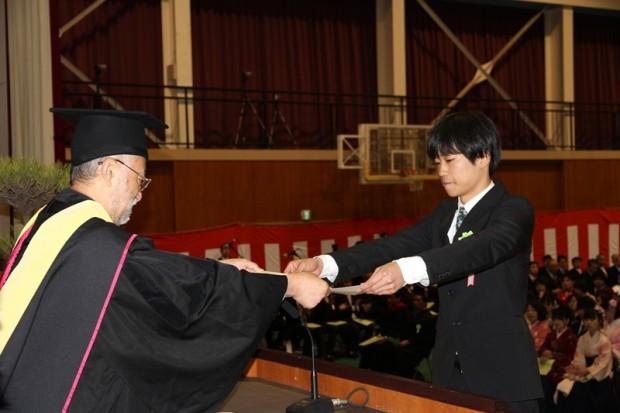 卒業証書授与