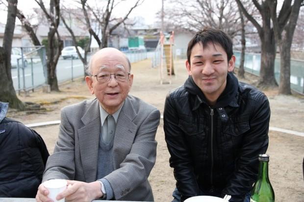 鈴木章先生と木綱浩人さん