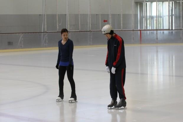 スケートの体験