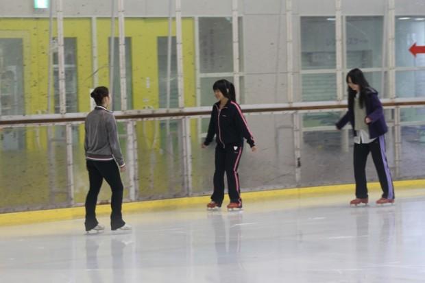 初めてのスケート?