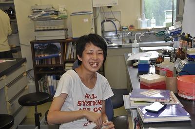生命科学科 小松 素子 さん
