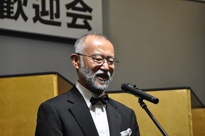 唐木英明新学長