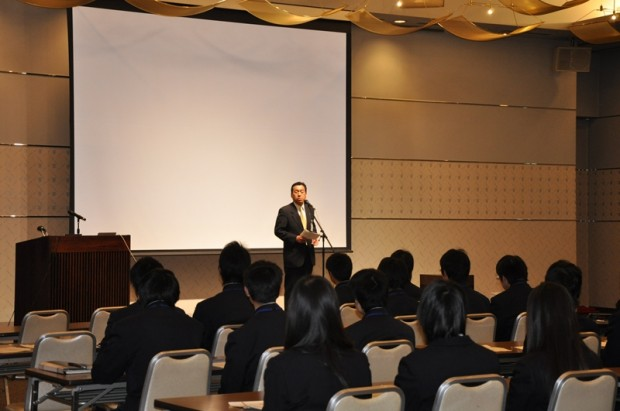 岡山県立玉島高等学校の課題研究発表会