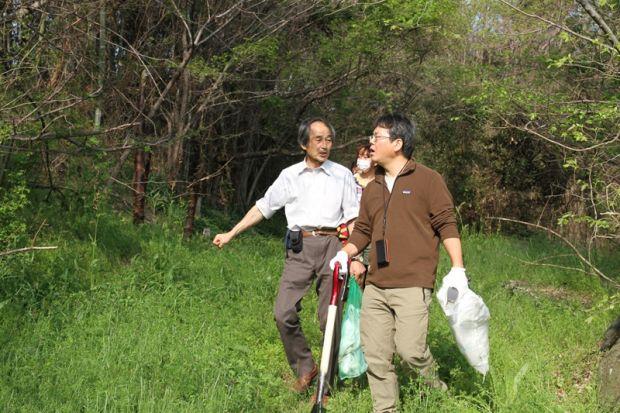 フィールドワーク竹林環境整備