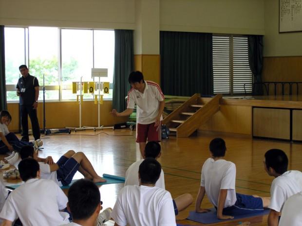 体幹トレーニング指導