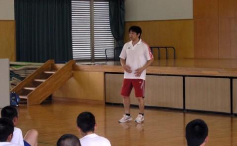 近畿大学付属福山高等学校への出張講義について