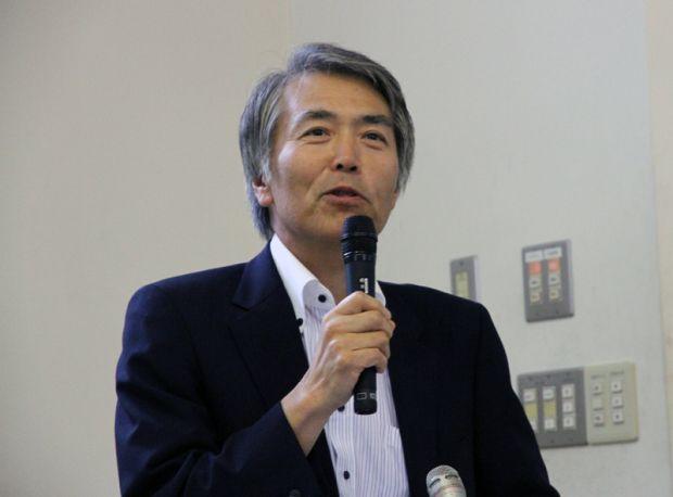 岡山理科大学副学長 金枝敏明先生