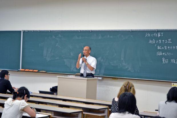 岡南ギャラリー 取締役会長 重田 雅彦さん