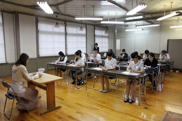 台湾語講習会の様子