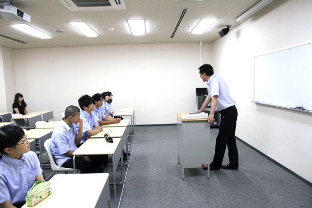模擬授業体験の様子