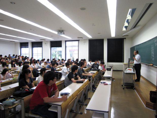 人生と仕事Ⅰ講義の様子