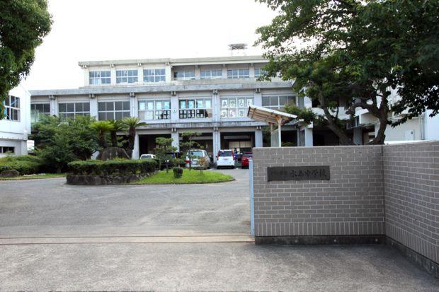 倉敷市立水島中学校校門