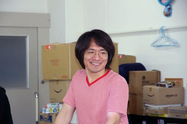 メディア映像学科中川先生