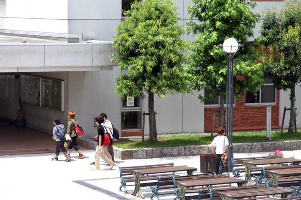 倉敷芸術科学大学キャンパス内