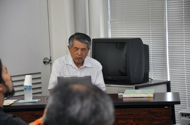 安井茂男氏