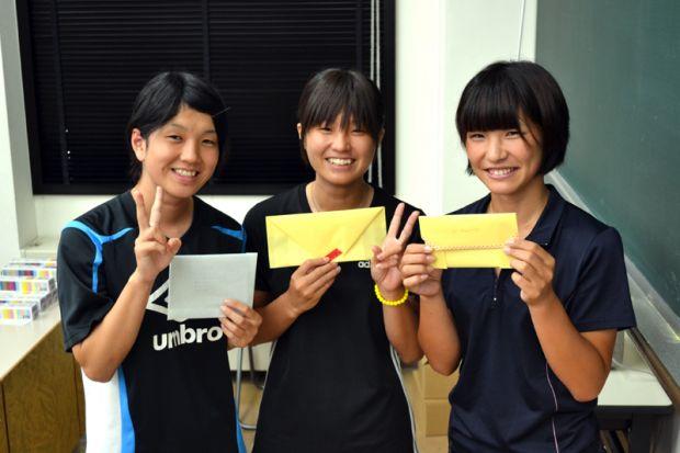 女子学生3人組
