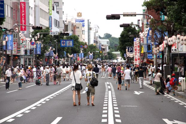 倉敷駅前の通り