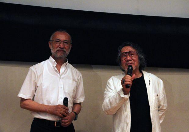 唐木学長と大林監督