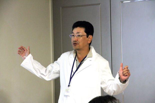 生命科学科仲章伸先生