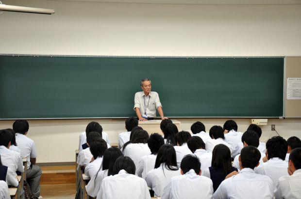 広島県立府中東高等学校の皆さん